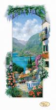 Итальянские пейзажи.Сицилия. Размер - 23 х 45 см.