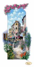 Итальянские пейзажи.Венеция. Размер - 23 х 45 см.