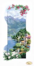 Итальянские пейзажи.Сардиния. Размер - 23 х 45 см.