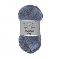 Пряжа Etrofil YONCA (100% полиэстер, 100 гр/100 м),70091 антрацит