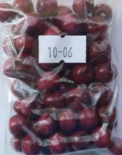 Деревянные бусины 10мм (20 г),цвет №06 (бордо)