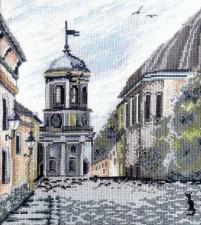 Марья Искусница   Выборг (по картине А.Майской). Размер - 25 х 28 см.