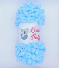 Пряжа Koala baby (100% полиэстер, 180 гр/16,7 м),106 голубой