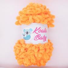 Пряжа Koala baby (100% полиэстер, 180 гр/16,7 м),109 оранжевый