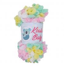 Пряжа Koala baby colors (100% полиэстер, 150 гр/13,9 м), цвет 201
