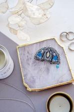 """Набор для вышивки бисером украшения на натуральном художественном холсте """"Летний дождь"""""""