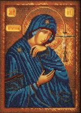 Богородица Ахтырская. Размер - 19 х 26 см.