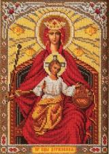 Богородица Державная. Размер - 19 х 27 см.