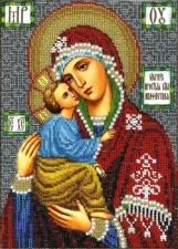 Икона Божией Матери Акафистная. Размер - 19 х 26 см.
