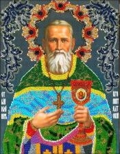 Святой праведный Иоанн Кронштадтский. Размер - 19,5 х 25,5 см.