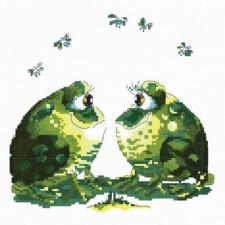 Белоснежка | Влюблённые лягушки. Размер - 19 х 20 см.