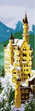 Белоснежка | Замок Нойшванштайн. Размер - 11 х 33 см.