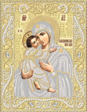 Маричка | Владимирская икона Божией Матери (золото). Размер - 18 х 23 см.