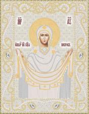 Маричка | Покров Пресвятой Богородицы (серебро). Размер - 18 х 23 см.