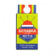 Булавка одностержневая портновская тип 1-30,уп.5 г