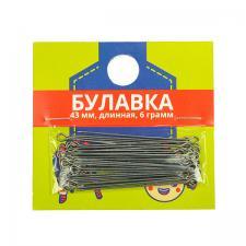 Булавка одностержневая портновская тип 1-43,6 г