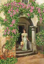 Маричка | Плетистые розы. Размер - 26 х 37 см.