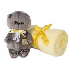 Басик BABY в комплекте с детским пледом.