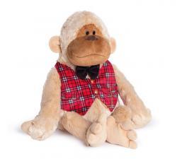 Антон-обезьяна в жилетке. Размер - 26 см.