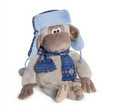 Фёдор в шапке-ушанке. Размер - 26 см.
