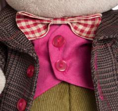 Зайка Ми-Эдинбург (мальчик), мягкая игрушка BudiBasa