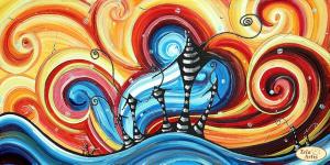 Тэла Артис | Волшебные сны. Размер - 44 х 24 см.