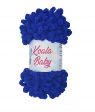 Пряжа Koala baby (100% полиэстер, 180 гр/16,7 м),53075 синий