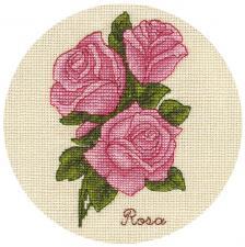 Панна | Букетик роз. Размер - 13 х 17 см