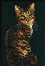 Риолис | Кошка. Размер - 26 х 38 см.