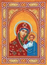 Абрис Арт | Богородица Казанская. Размер - 28,5 х 38,5 см