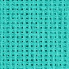Канва крупная арт.854 (10х44кл) 40х50см цв.бирюза