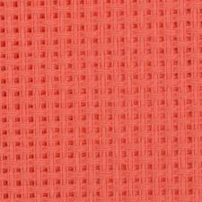 Канва крупная арт.854 (10х44кл) 40х50см цв.коралл