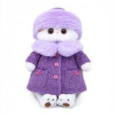 Кошечка Ли-Ли в лиловой шубке, мягкая игрушка Budi Basa