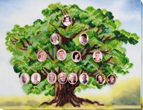 Абрис Арт | Родовое древо. Размер - 33 х 40 см