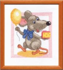 Чаривна Мить | Восточный гороскоп.С днём рождения Крыска! Размер - 18 х 20 см