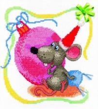 Чаривна Мить | Восточный гороскоп.С Новым годом Мышки! Размер - 19 х 21 см