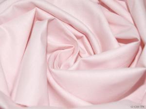 Ткань сатин гладкокрашеный, 120г/м², 100% хлопок, шир.220см, цв.нежно-розовый