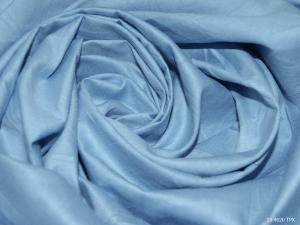 Ткань сатин гладкокрашеный, 120г/м², 100% хлопок, шир.220см, цв.светло-голубой уп.3м