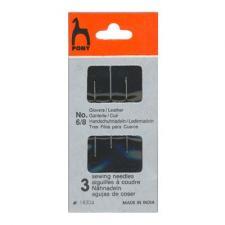 PONY Иглы для кожи размер 6-8 уп.3 шт
