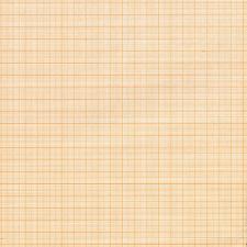 Бумага масштабно-координатная (миллиметровка) цв.оранжевый 88см х 10м