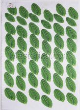Заготовка для аппликаций на ткани (листья) ОАР-8