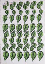 Заготовка для аппликаций на ткани (листья сирени) ОАР-11