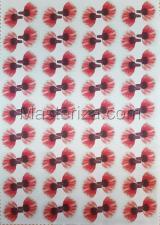 Заготовка для аппликаций на ткани (лепестки мака) ОАР-72-2,А3
