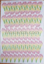 Заготовка для аппликаций на ткани (лепестки пиона) ОАР-80