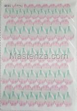 Заготовка для аппликаций на ткани (лепестки пиона) ОАР-80-6