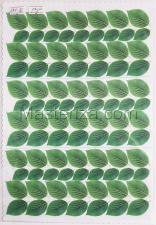 Заготовка для аппликаций на ткани (листья розы) ОАР-76