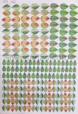 Заготовка для аппликаций на ткани (листья ежевики) ОАР-114,А3