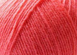 Himalaya LANA LÜX 400 (50% шерсть,50% акрил),100 г/400 м,цв.22011 коралловый