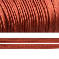 Кант атласный шир.11мм цв.(F285) 085 терракот