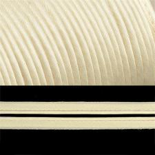 Кант атласный шир.11мм цв.(F104) молочный